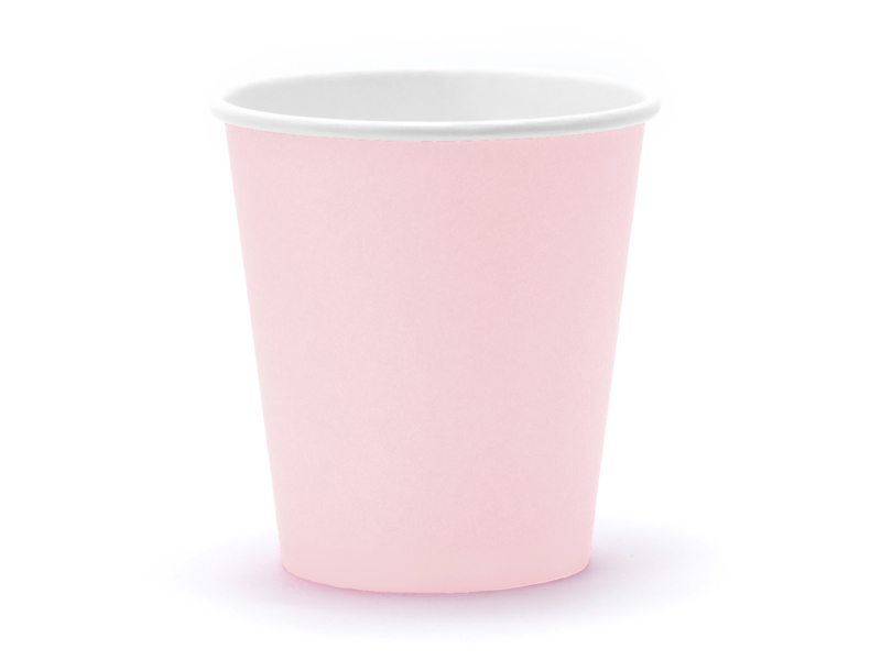 Copos Light Power Pink 180ml,pk/6