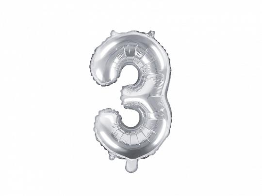 Balão 35cm 3 - Prateado