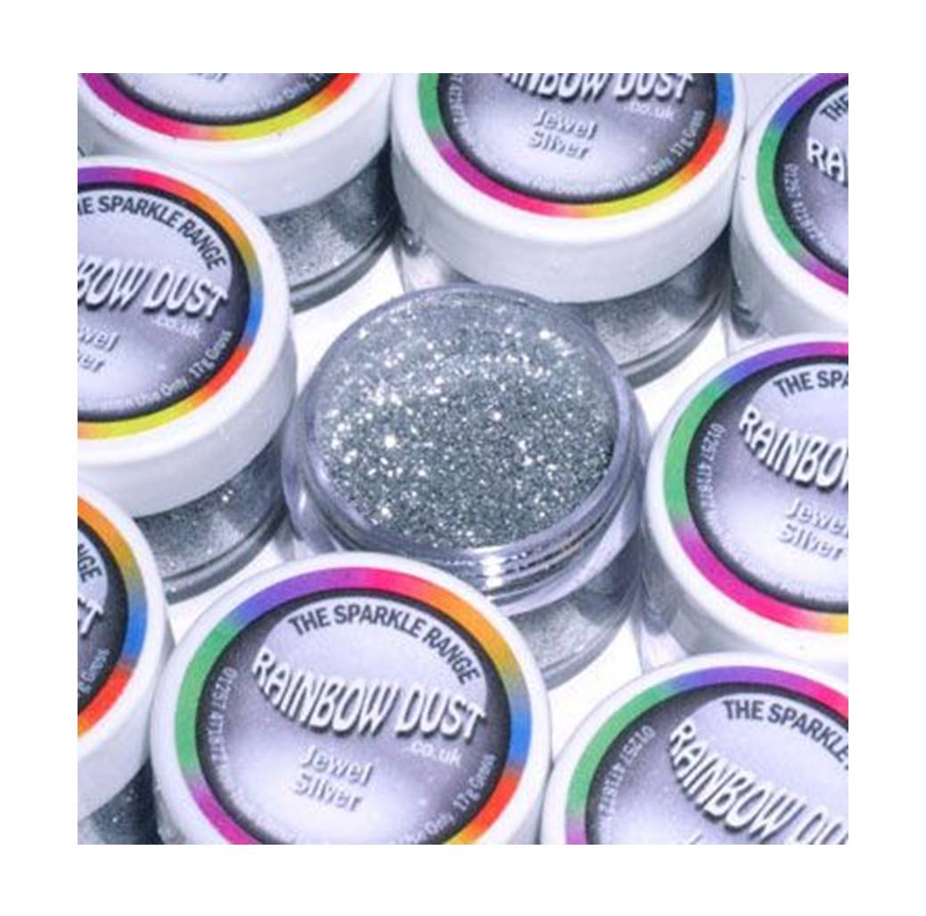 purpurinas - Jewel - Silver Glitter