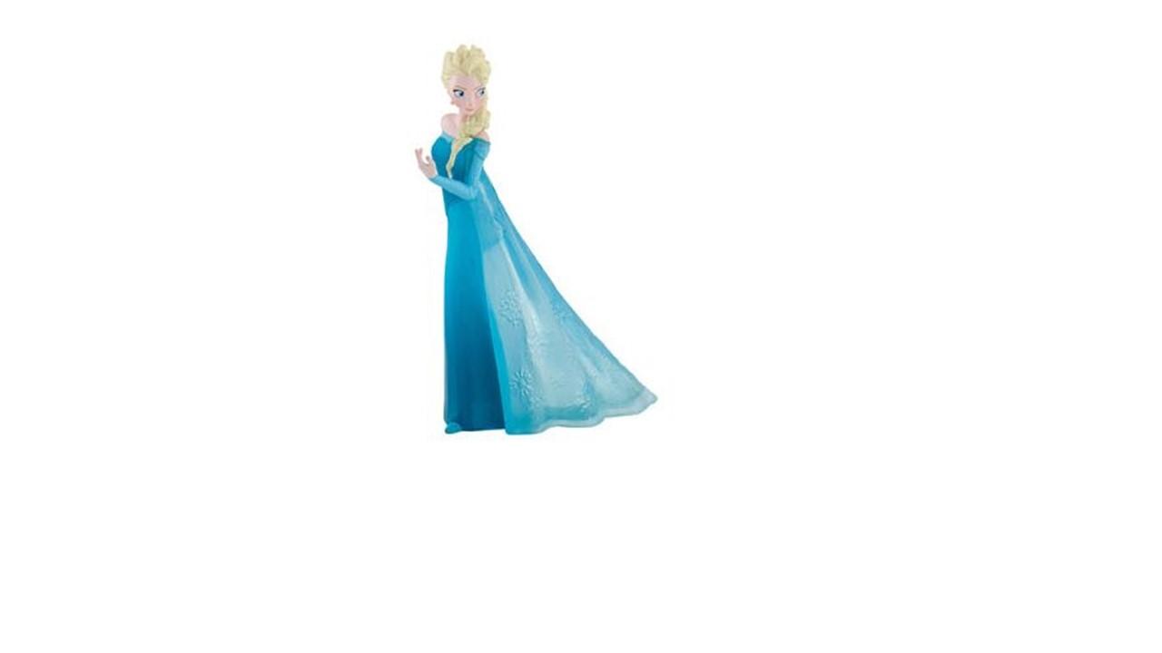 Topo Bolo Frozen - Elsa
