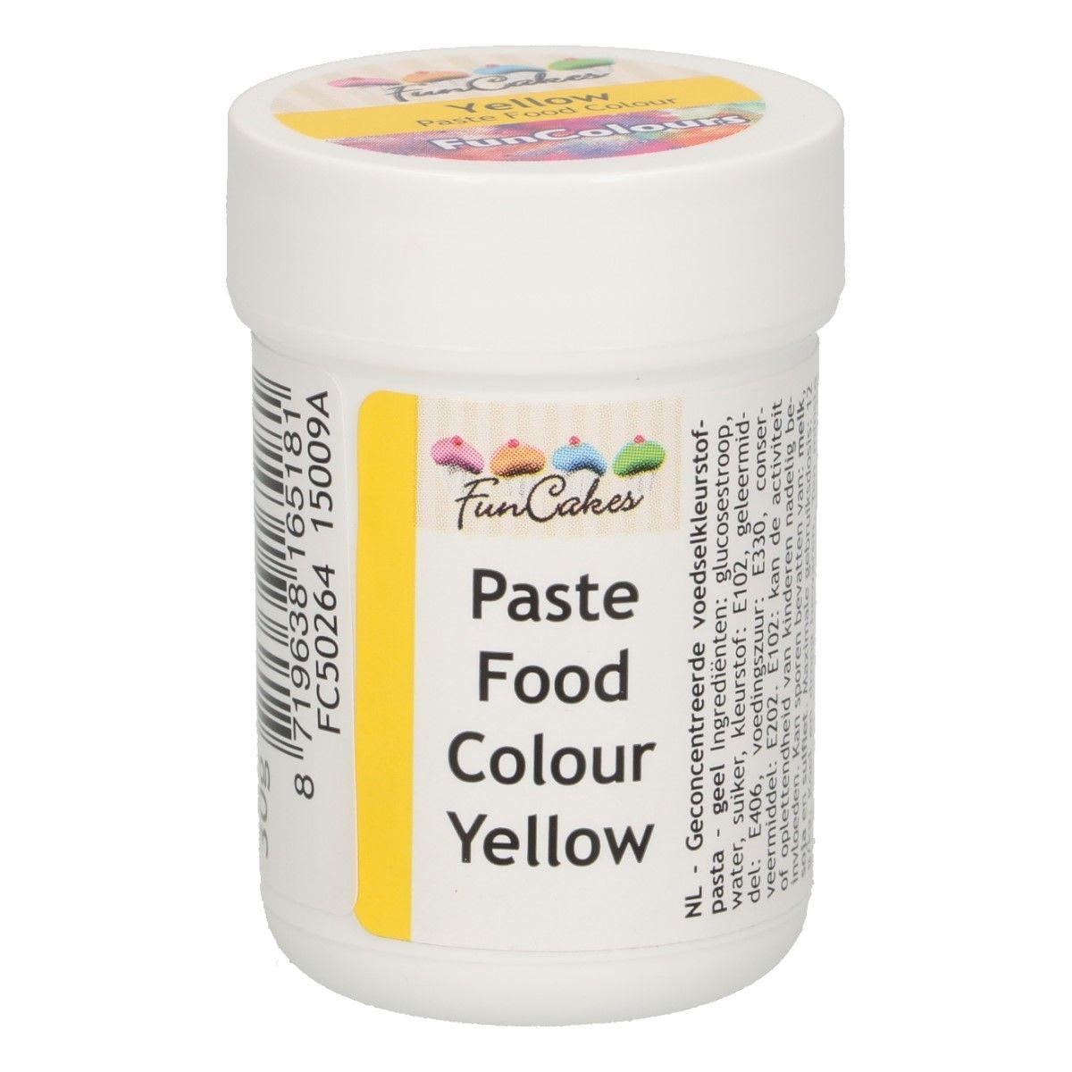 Corante em Gel - Amarelo 30gr