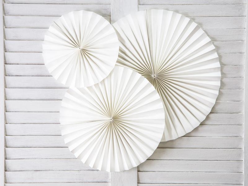 Rosetas Decorativas - Brancas