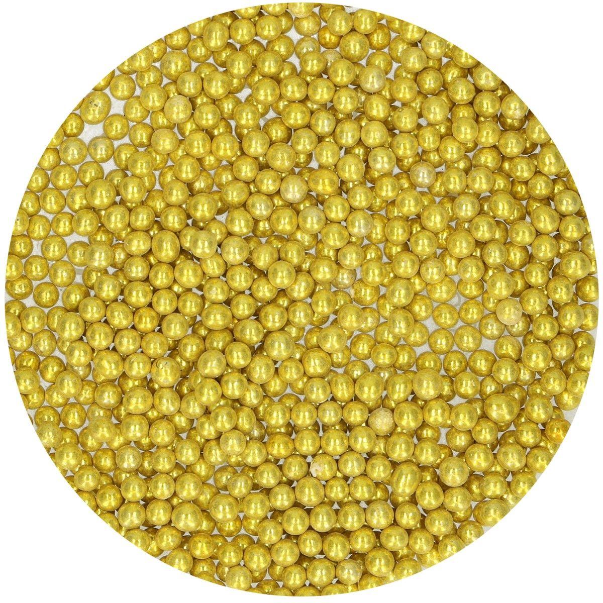 Perolas - Metalicas Douradas 80gr