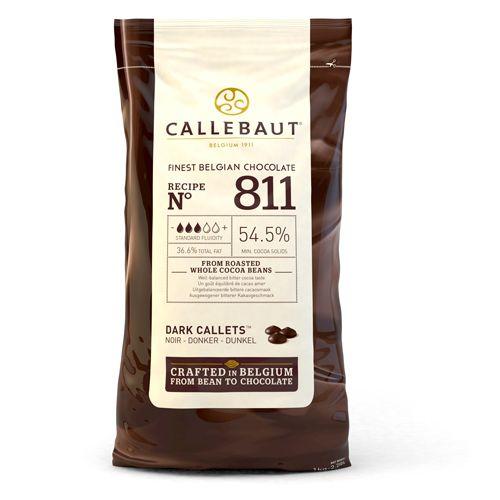 Pastilhas de Chocolate Negro Callebaut 1kg