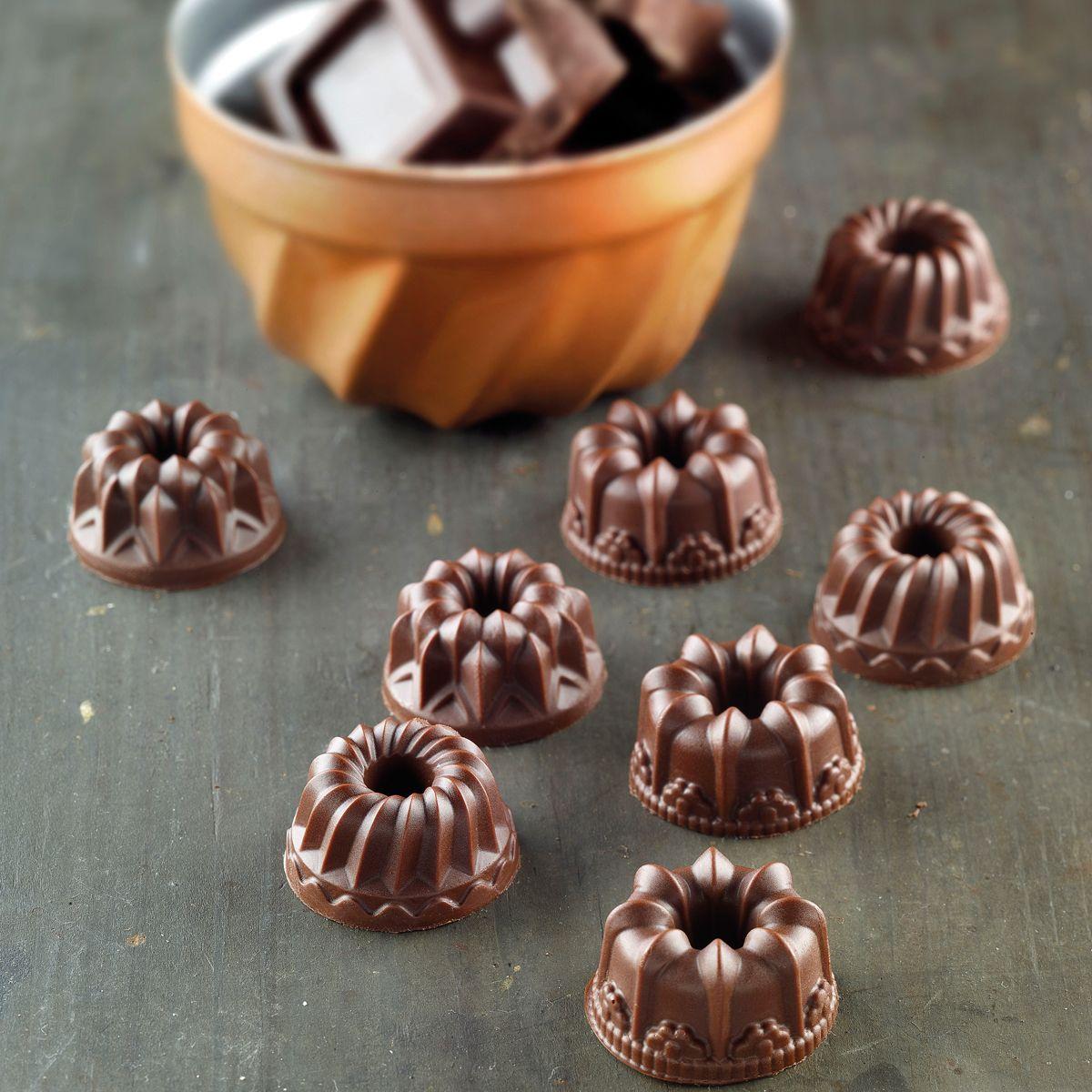 Molde Silicone Chocolate Fantasia