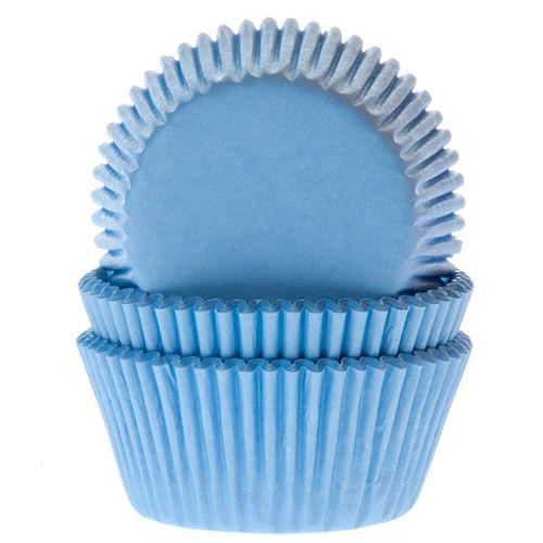 Forminhas Cupcake Azul  Céu pk/50, HOM