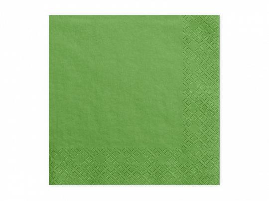 Guardanapos Verde 33*33,pk/20
