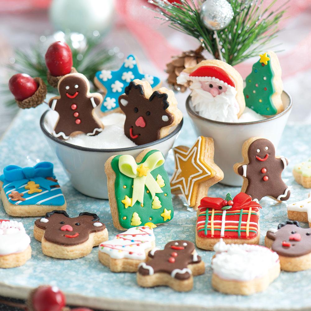 Cortadores Mini Christmas,pk/6