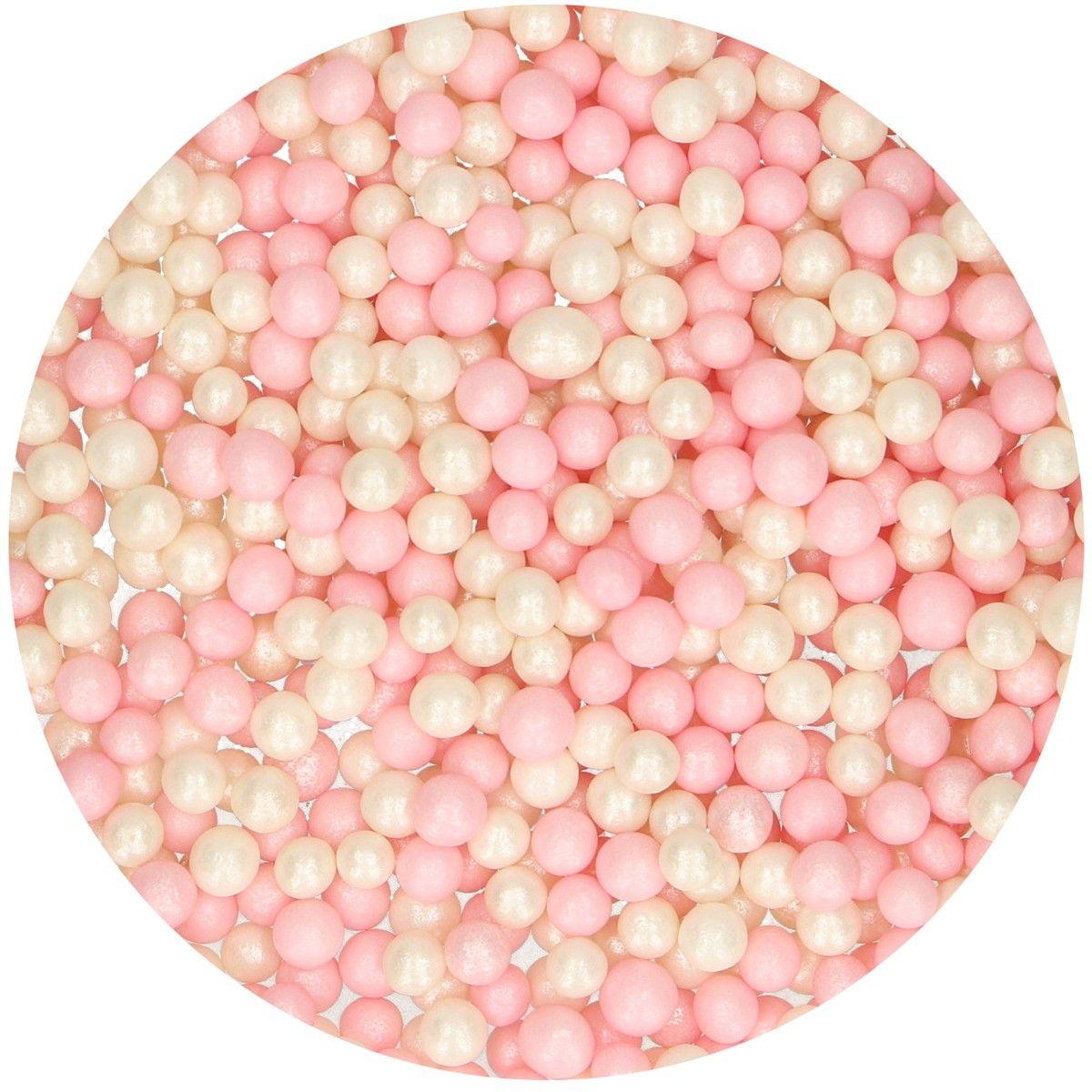Perolas - Soft Branco/Rosa 60gr