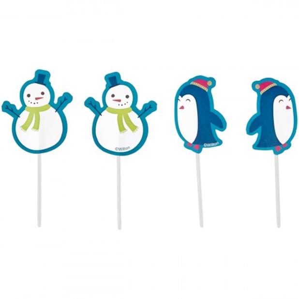 Fun Pix Boneco Neve e Pinguins,pk/12