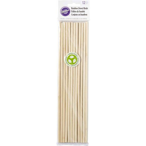 Bamboo Dowel Rods, Set 12