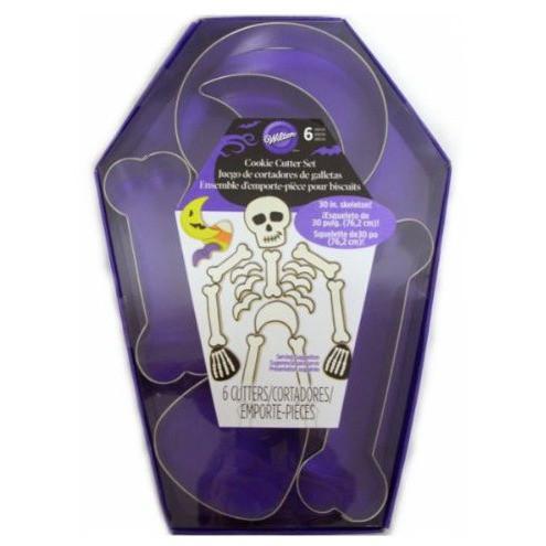 Cortadores Halloween Esqueleto Set/6