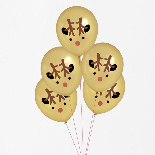 Balões Mini Reindeer,pk/5