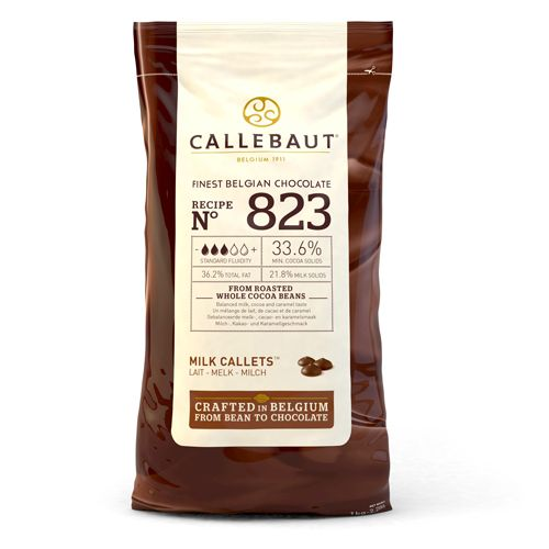 Pastilhas Chocolate de Leite Callebaut 1kg