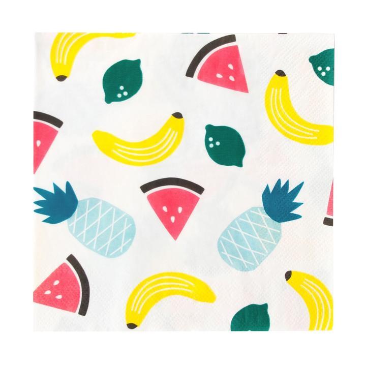 Guardanapos Frutas,pk/20