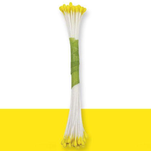 Estames Finos - Amarelo,pk/50