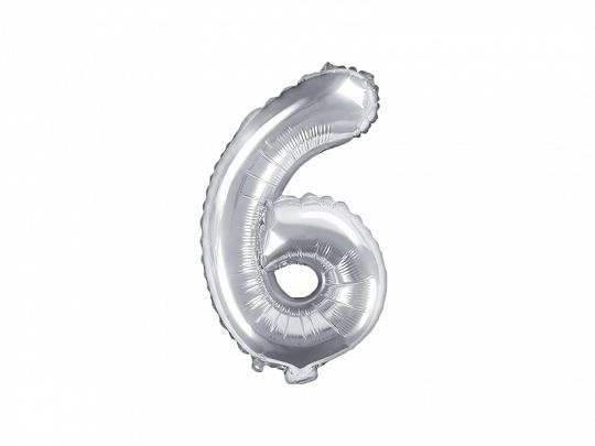 Balão 35cm 6 - Prateado