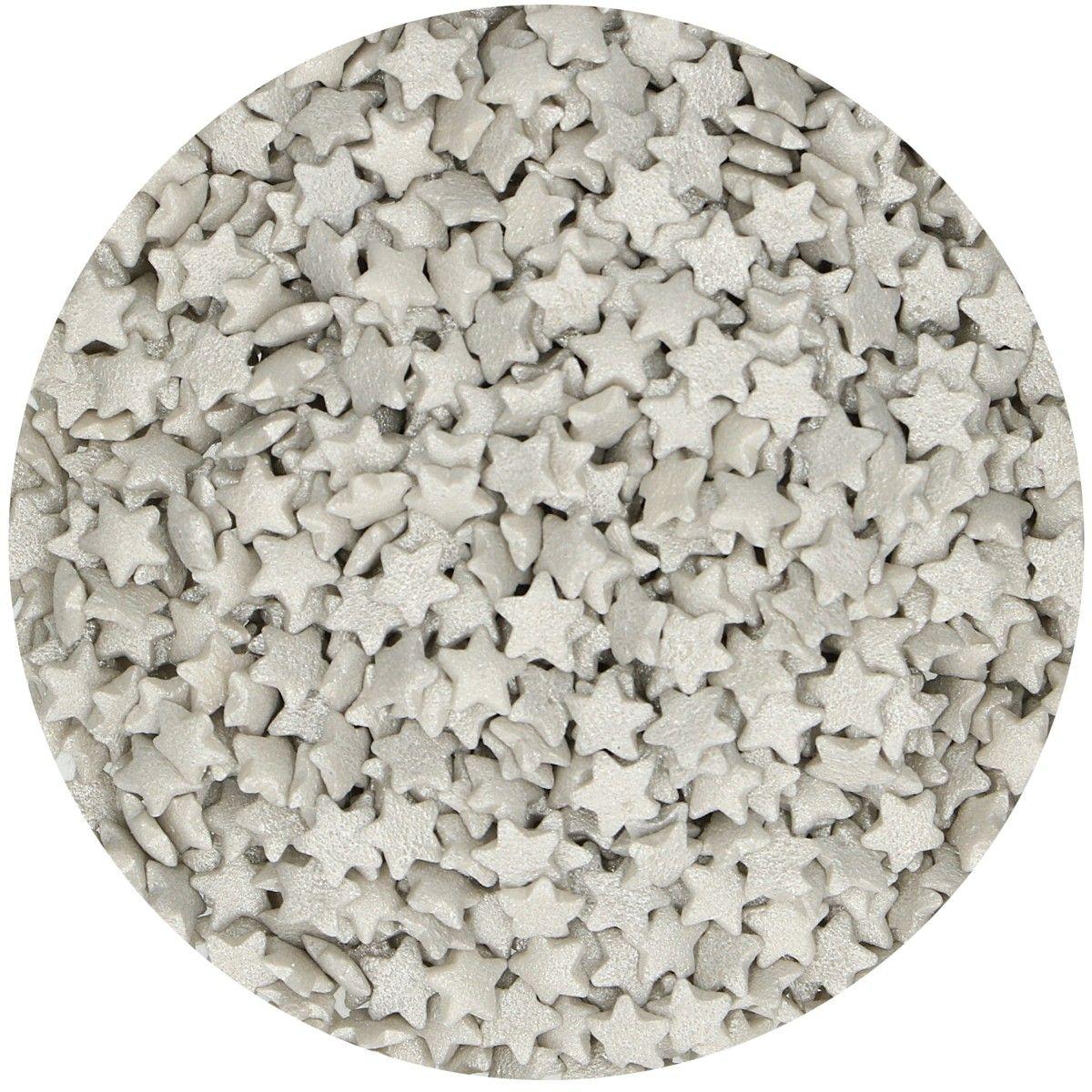Sprinkles Estrelas Prata,  60gr