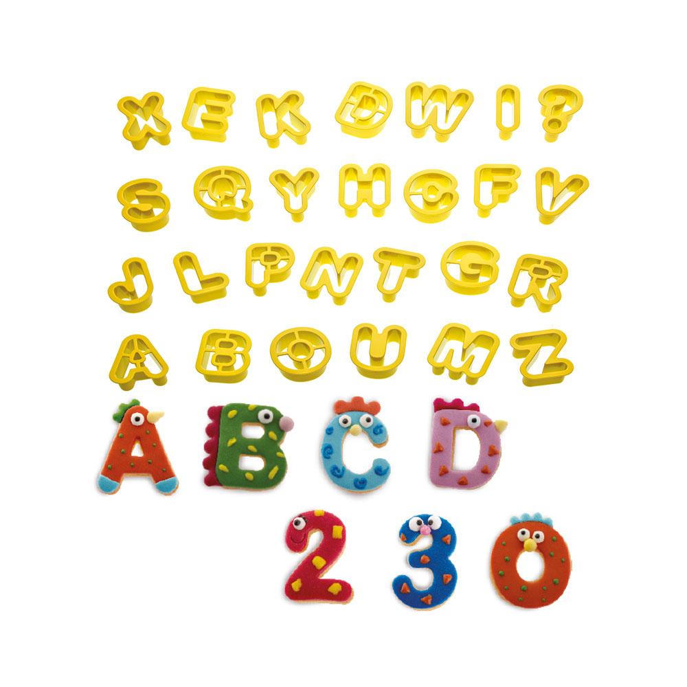 Cortadores Alfabeto e Numeros  2 X 1.6