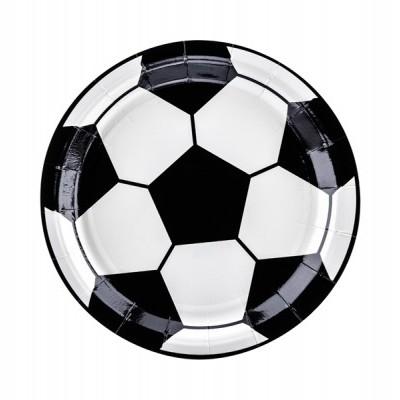 Pratos Futebol 18cm,pk/6
