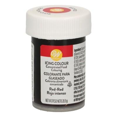 Corante Gel 28gr - Vermelho Vermelho