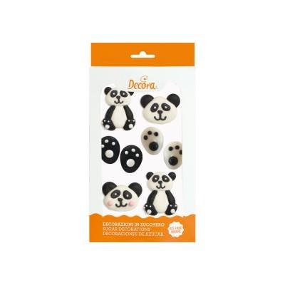 Decorações Açucar Panda,pk/6