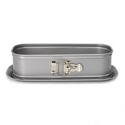 Forma Silver Top Springform Rectangular 30cm