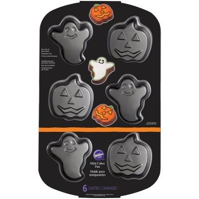 Mini Formas Fantasma y Jack-O-Latern