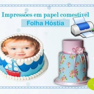 Impressão em Folha de Hóstia