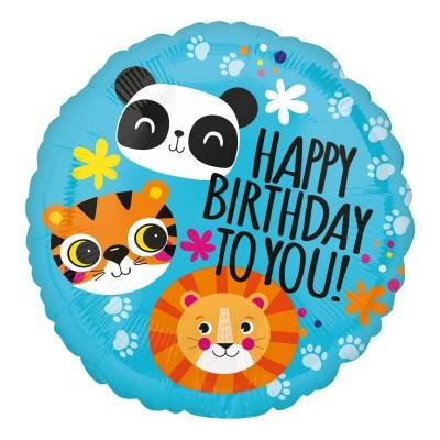 Balão Lion tiger & Panda