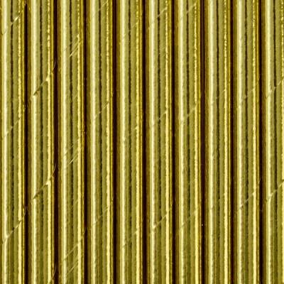 Palhinhas Papel Dourado,pk/10