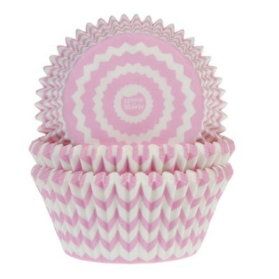 Forminhas Cupcake Rosa Claro pk/50