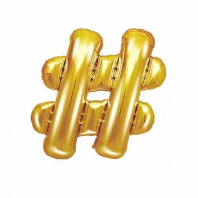 Balão Dourado - #