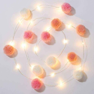 Luzes We Heart Pink Pompom, 2m