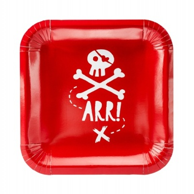 Pratos Piratas,pk/6