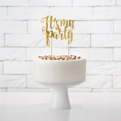 Cake Topper Its my Party