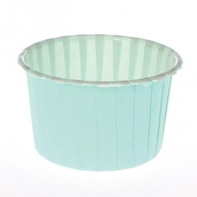 Formas CupCake Baking Cup Aqua pk/24