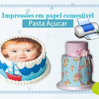Impressão em Pasta de Açucar