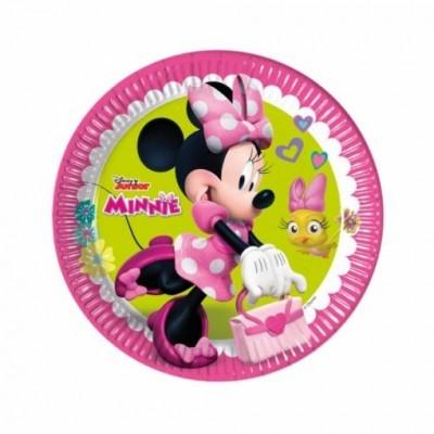 Pratos  Minnie Helpers 23cm,pk/8