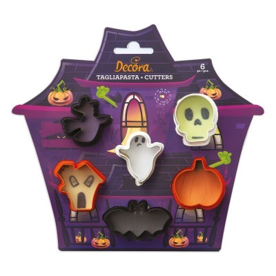 Mini Cortadores Halloween,pk/6