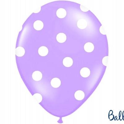 Balões 30cm, Dots,  Lavender Blue, pk/6