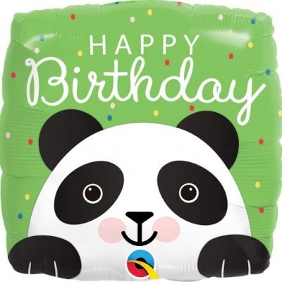 Balão Panda Happy Birthday