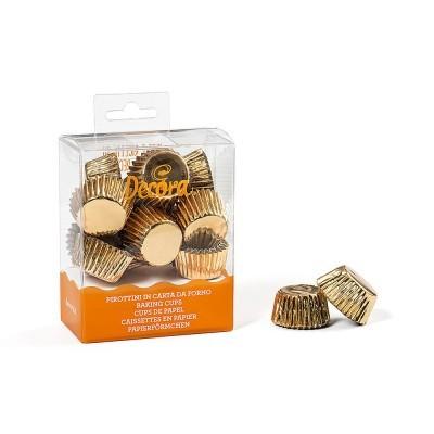 Formas Mini CupCake Dourado.pk/180