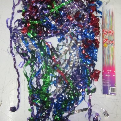 Lança Confettis Serpentinas Multicolor
