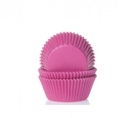 Formas Mini Cupcake Fushia, pk/60