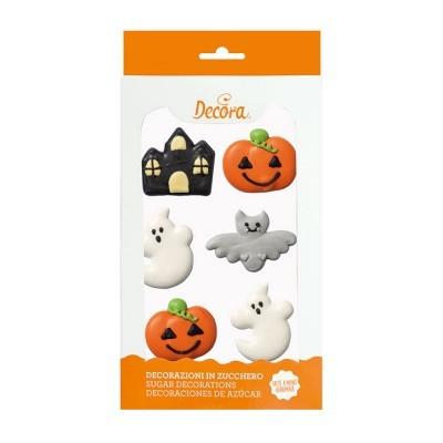 Decorações Açucar Halloween,pk/6