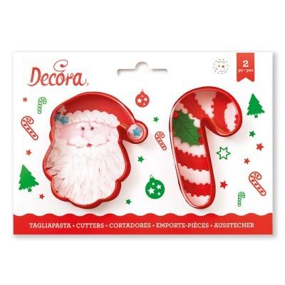 Cortador Pai Natal e Candy,pk/2