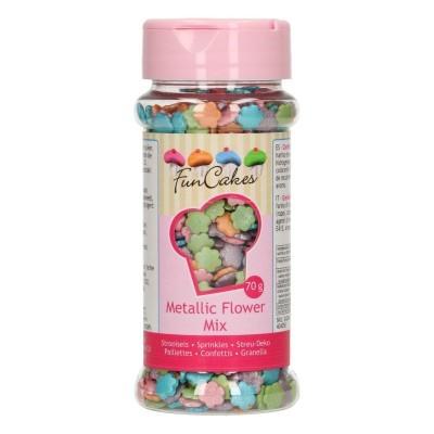 Sprinkles Flores Metalizadas,70gr