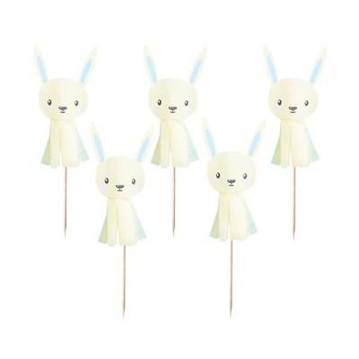 Cake Picks Bunny - Amarelo