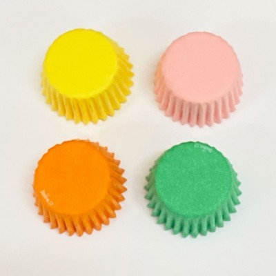 Formas Mini CupCake Coloridas, pk/200